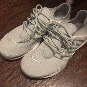 Light Grey Nike Prestos